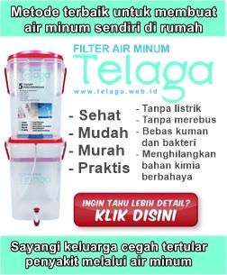 TELAGA - Filter Air minum